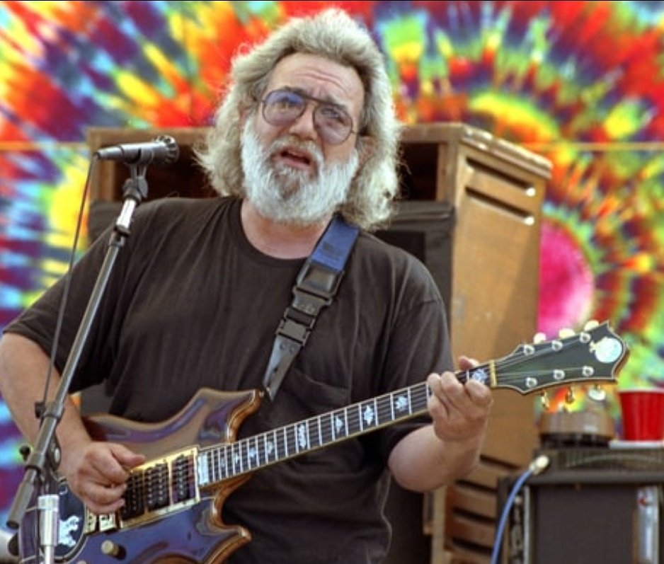 Happy birthday Jerry Garcia. Drivin\ that train, high on cocaine.
