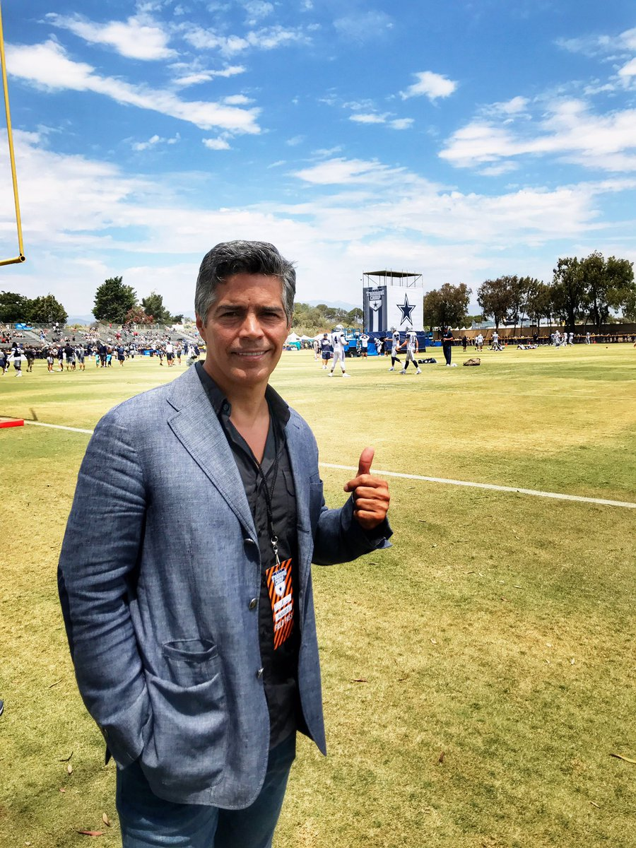 026829de9 thanks to esaimorales for the support and coming out to camp today  cowboyscamp