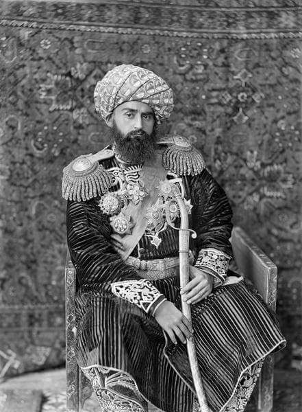 "Edward Lemon on Twitter: ""Said Abd al-Ahad Khan, Emir of Bukhara ..."