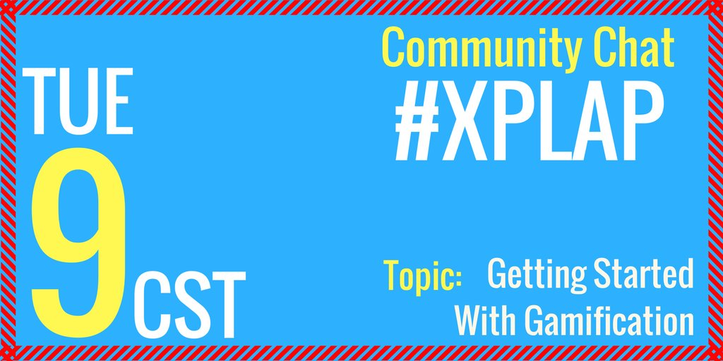 Welcome to #XPLAP! Excited to chat! Please introduce yourself! https://t.co/MPHYzDCPWA