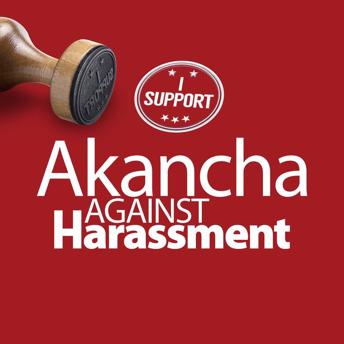 I support @AkanchaS in fighting Cyber https://t.co/UUq7l9BT2X abuse needs to stop.Need to tackle this together&make online a safe place. https://t.co/yNk62NgRd0