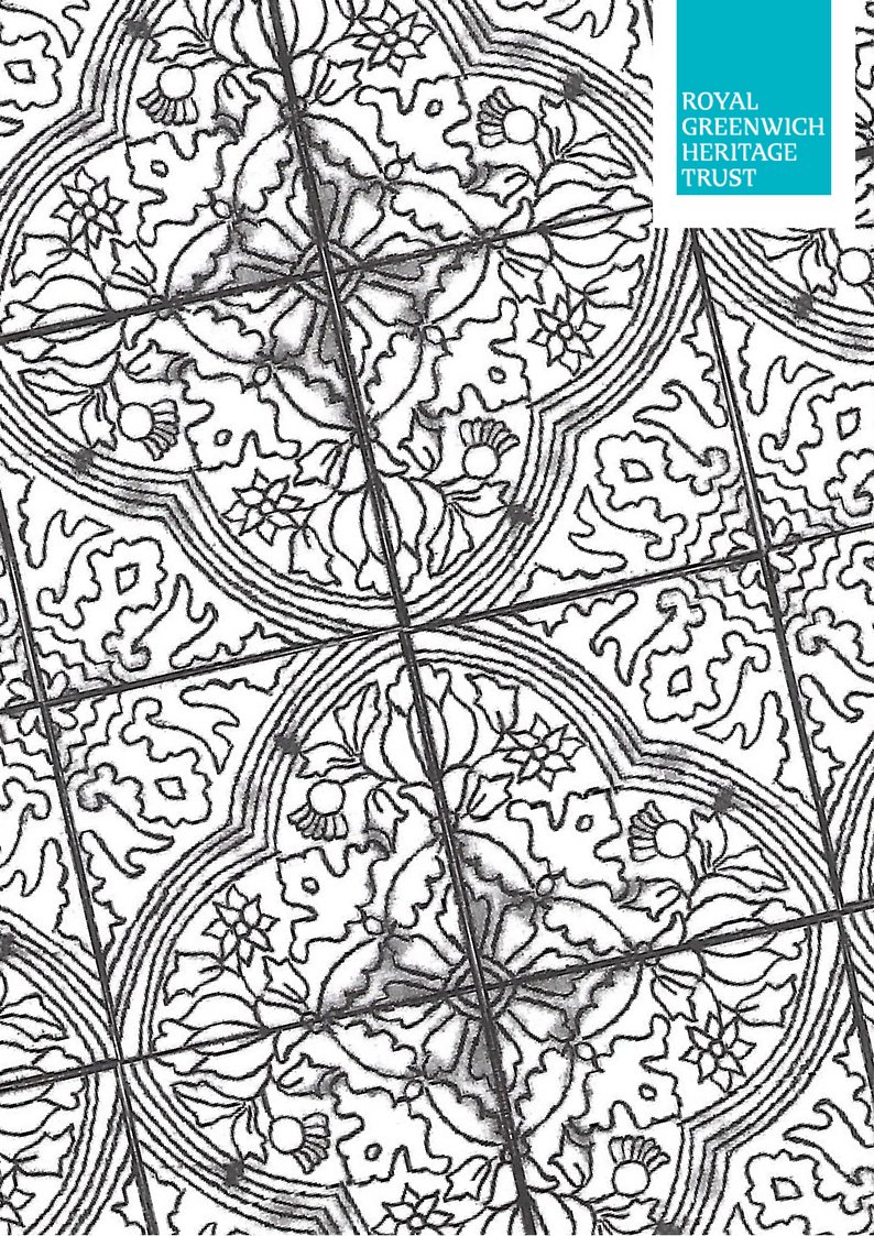 Happy colouring book day! Why not get involved and colour this page we've made from our Georgian tiles?