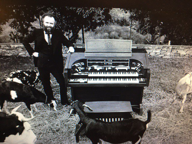 Happy 80th birthday to Garth Hudson and his enormous organ