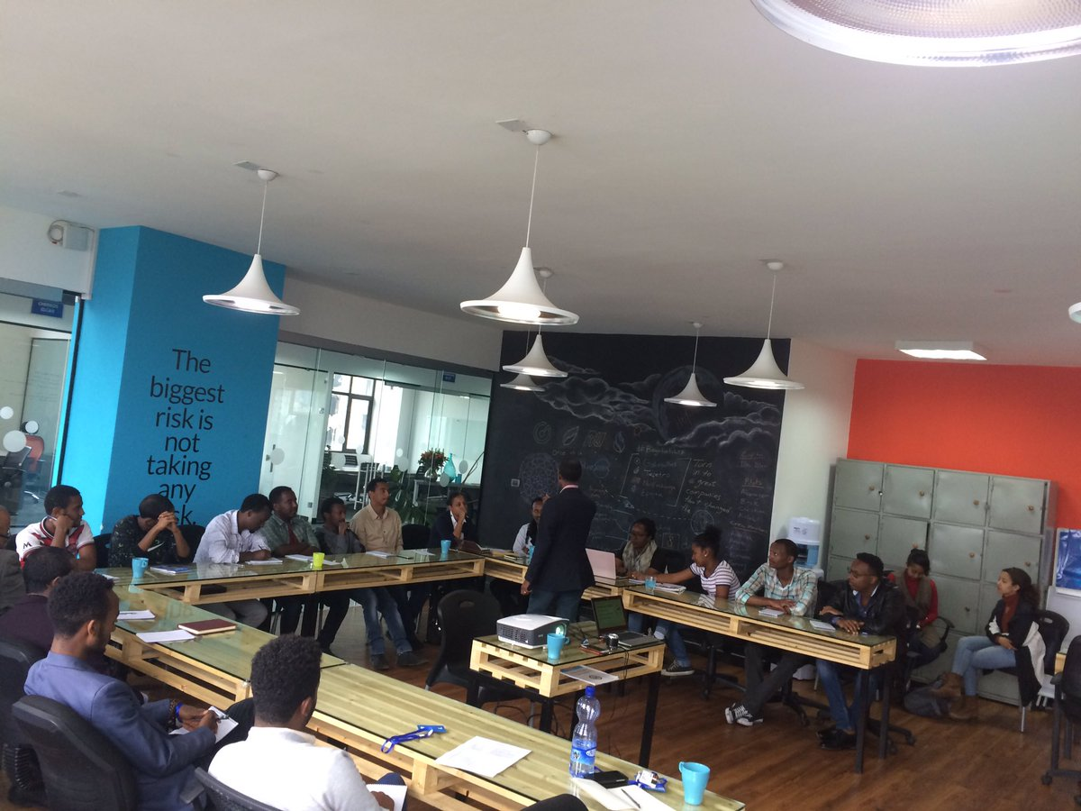 Thanks BlueMoonEth Addis Garage For Assembling An Amazing Group Of Entrepreneurs Todays Design Thinking Class Led By Debasspictwitter