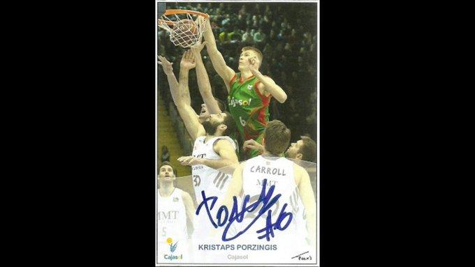 Happy Birthday to Kristaps Porzingis of who turns 22 today. Disfruta de tu día