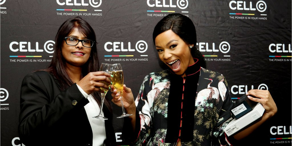 Welcome to the Cell C Family QueenB! Awesome times ahead… @bonang_m
