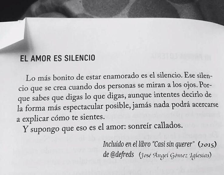 Silencio.