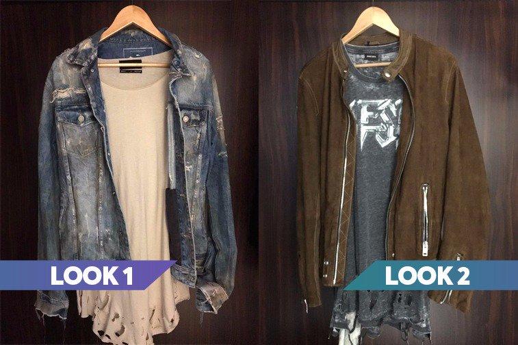 Look 1 ou look 2? Vou subir uma enquete pra vocês votarem na roupa que @luansantana vai usar na estreia de #CantaLuan! <3