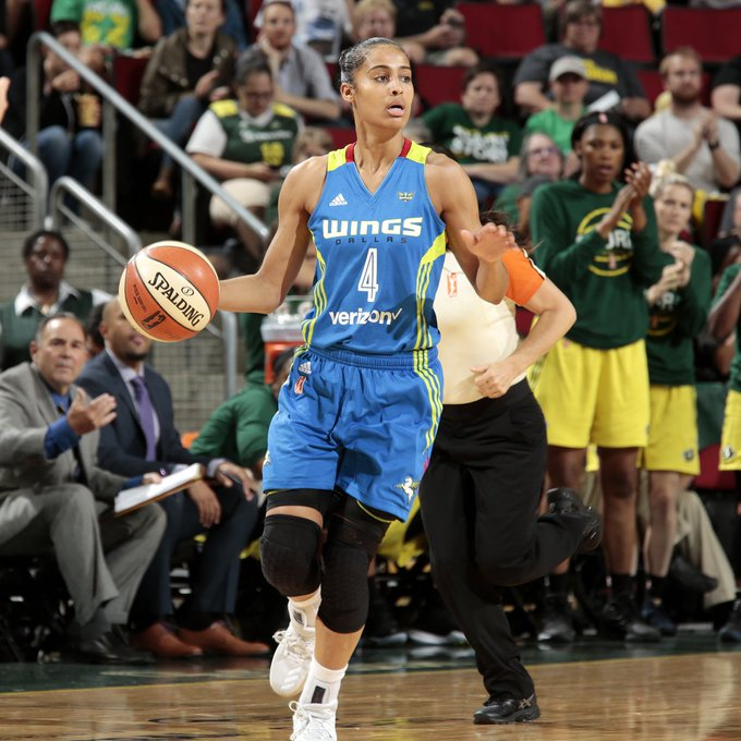 Happy birthday to Skylar Diggins-Smith!