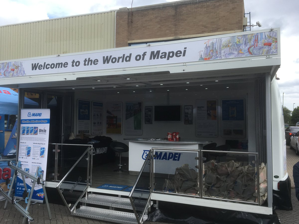 Mapei UK Ltd on Twitter: