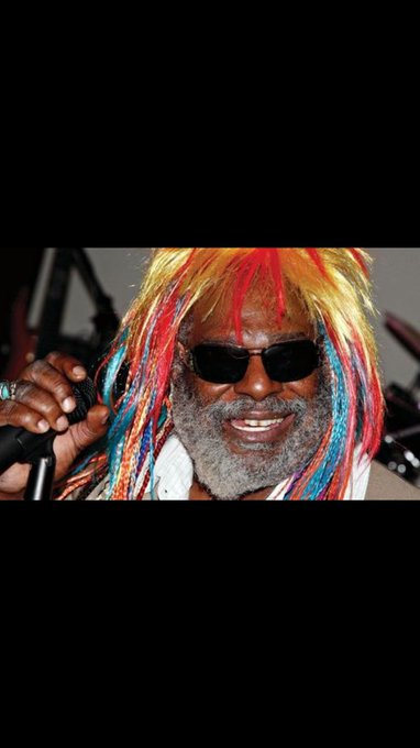Happy late birthday to the goat George Clinton
