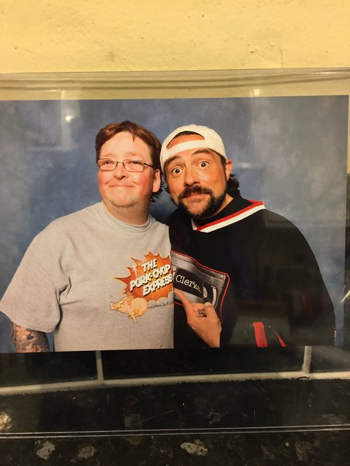 Happy Birthday with the best Kevin Smith cosplayer ever at