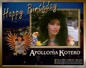 Happy birthday Apollonia Kotero