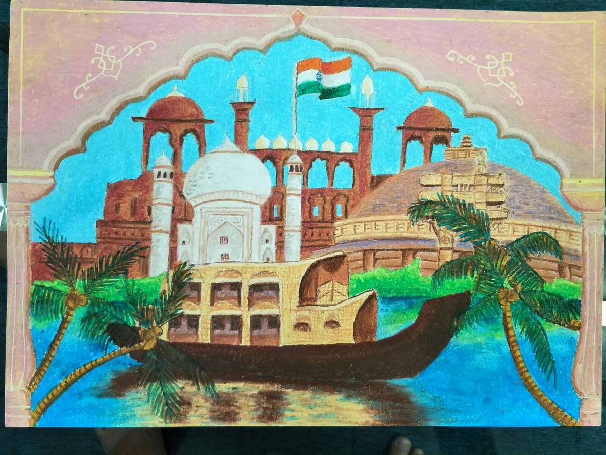 Incredible Ndia On Twitter Incredibleindia Drawing Competition
