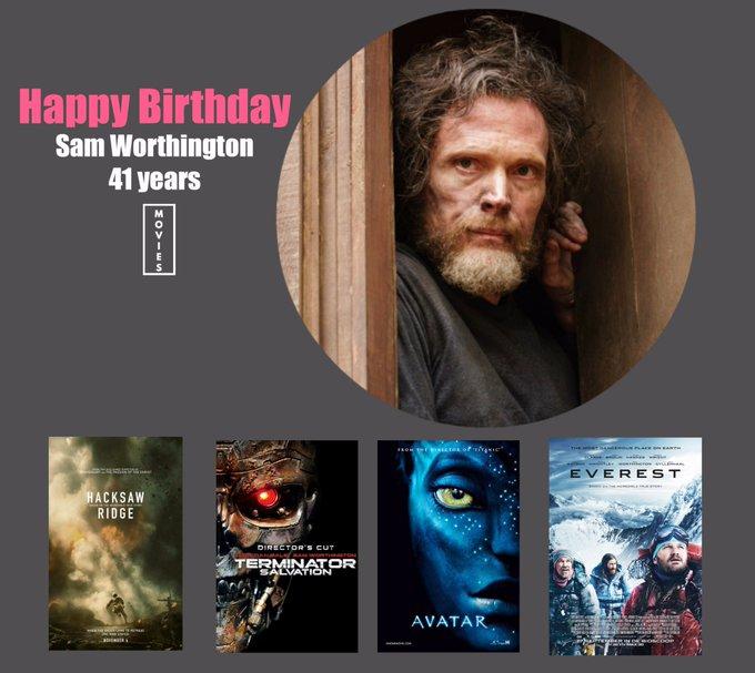 Happy Birthday Sam Worthington