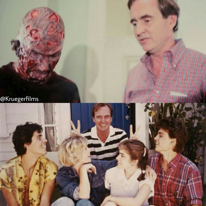 Happy birthday Wes Craven! Thank you for the nightmares.