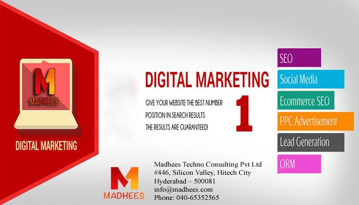 We are also providing the Services in #DigitalMarketing #SEO #SocialMedia #ASEO #Adwords #Madhees<br>http://pic.twitter.com/xd26kblS40