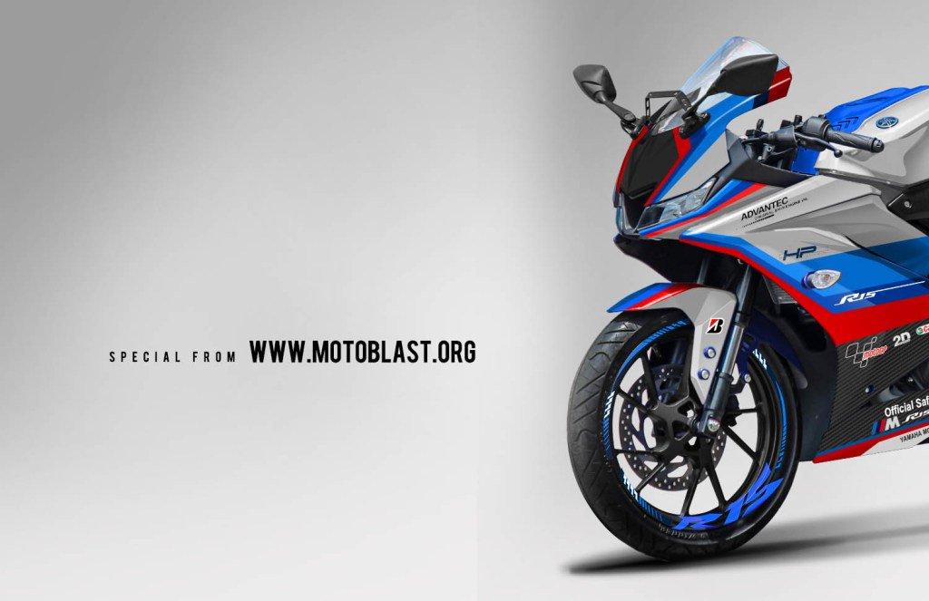 Blog Motoblast On Twitter Modifikasi Striping Yamaha R15 V3 Livery