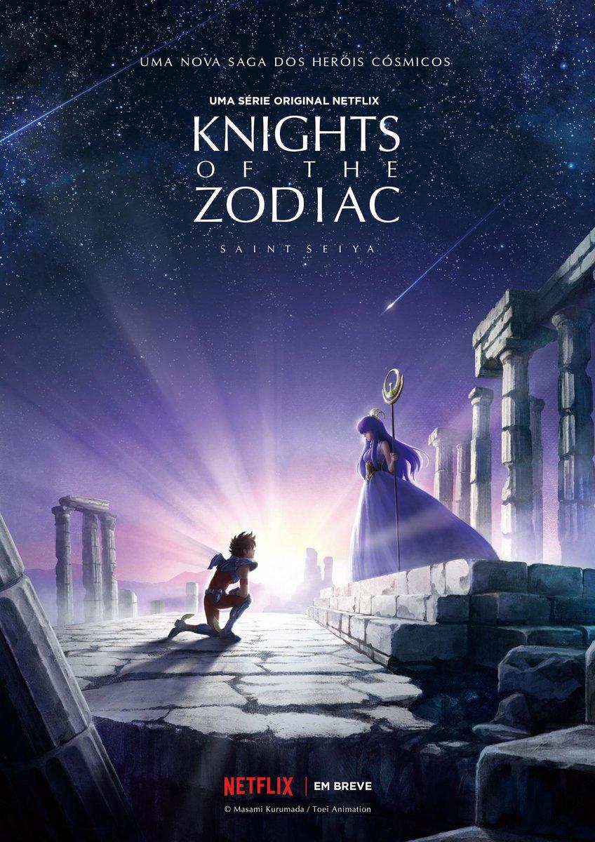 O cosmo vai brilhar. Agora na Netflix.
