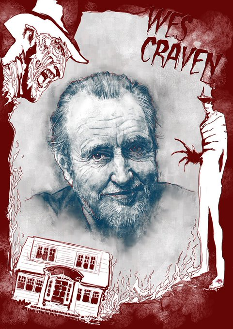Happy birthday to Wes Craven.
