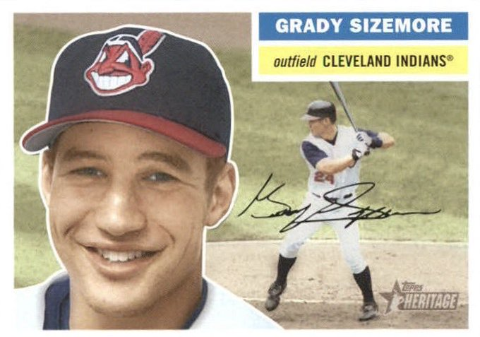 Happy 35th birthday to Grady Sizemore, who hit .287, 8 HR, 51 RBI, with the 2004