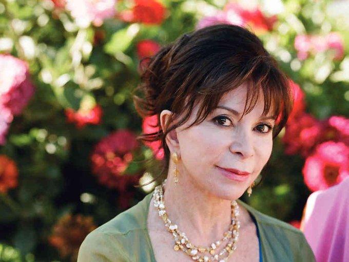 Happy birthday, Isabel Allende! 75, today!