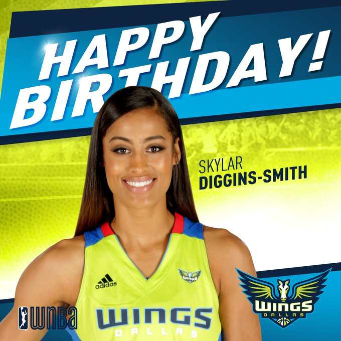 Sending a super-sized Happy Birthday to our very own Skylar Diggins-Smith!
