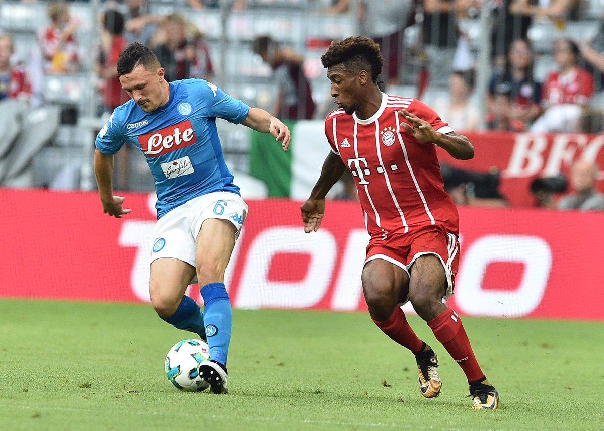 Bayern Monaco-Napoli 0-2, il tabellino | Audi Cup 2017