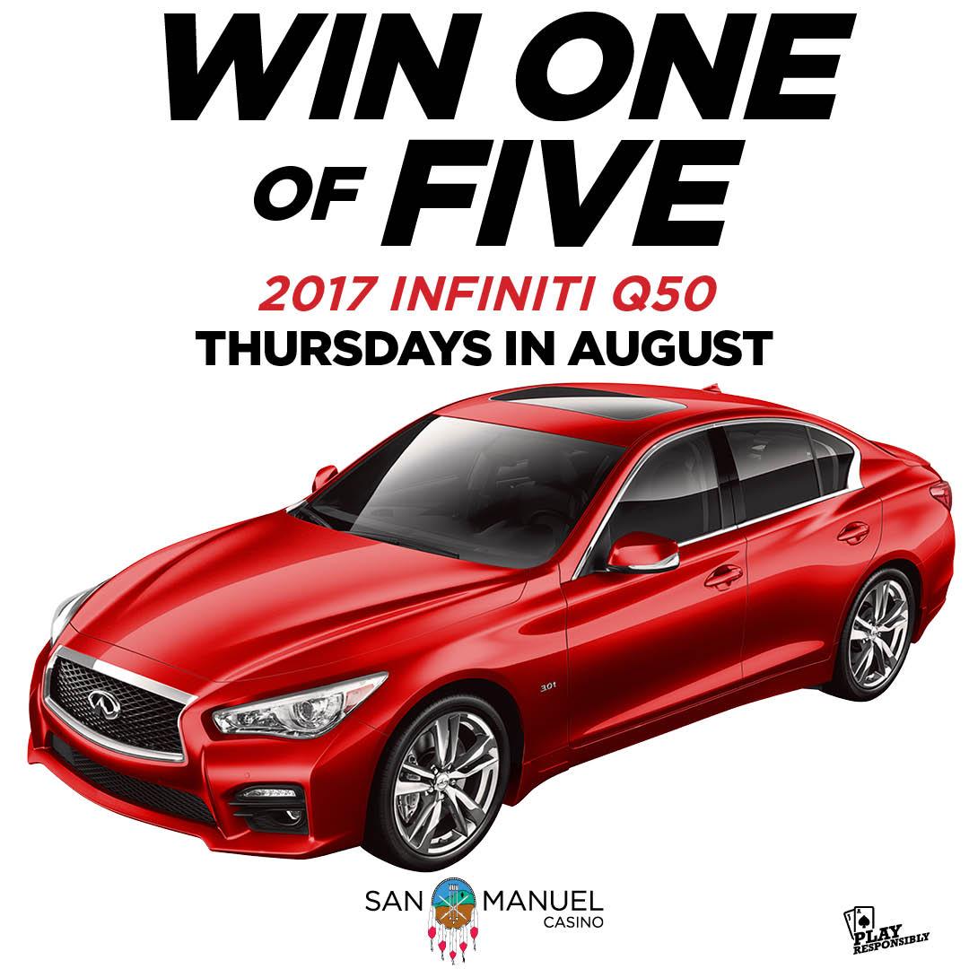 San manuel casino car giveaways