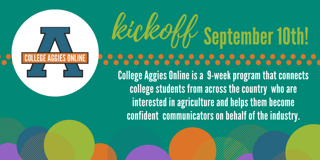 Sign up for College Aggies Online to learn how to better #advocate for agriculture!  http:// bit.ly/29ZCW3q  &nbsp;   #CAO17 <br>http://pic.twitter.com/Nqe3hiHHd6