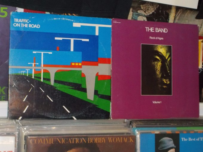 Happy Birthday to the late Jim Capaldi of Traffic and Garth Hudson of the Band