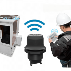 Configure or Troubleshoot #Industrial Machines from up to 100 meters #wirelessly! Learn more: #automation  https://www. ramcoi.com/2017/06/wirele ss-bolt/ &nbsp; … <br>http://pic.twitter.com/4CJHmK7xnR