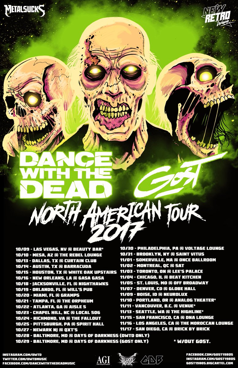 DANCE WITH THE DEAD (@DWTDmusic)   Twitter