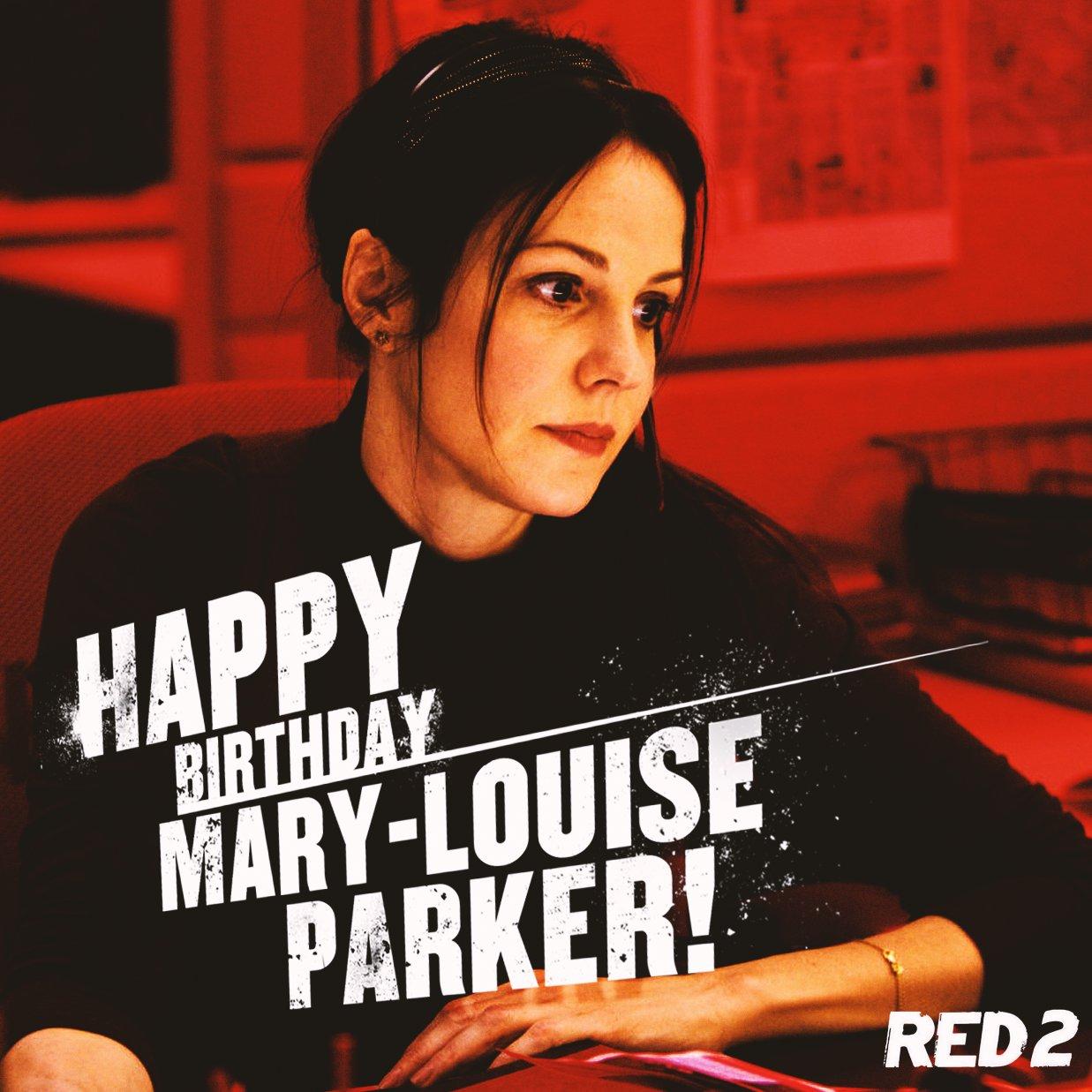 Happy Birthday Mary-Louise Parker!