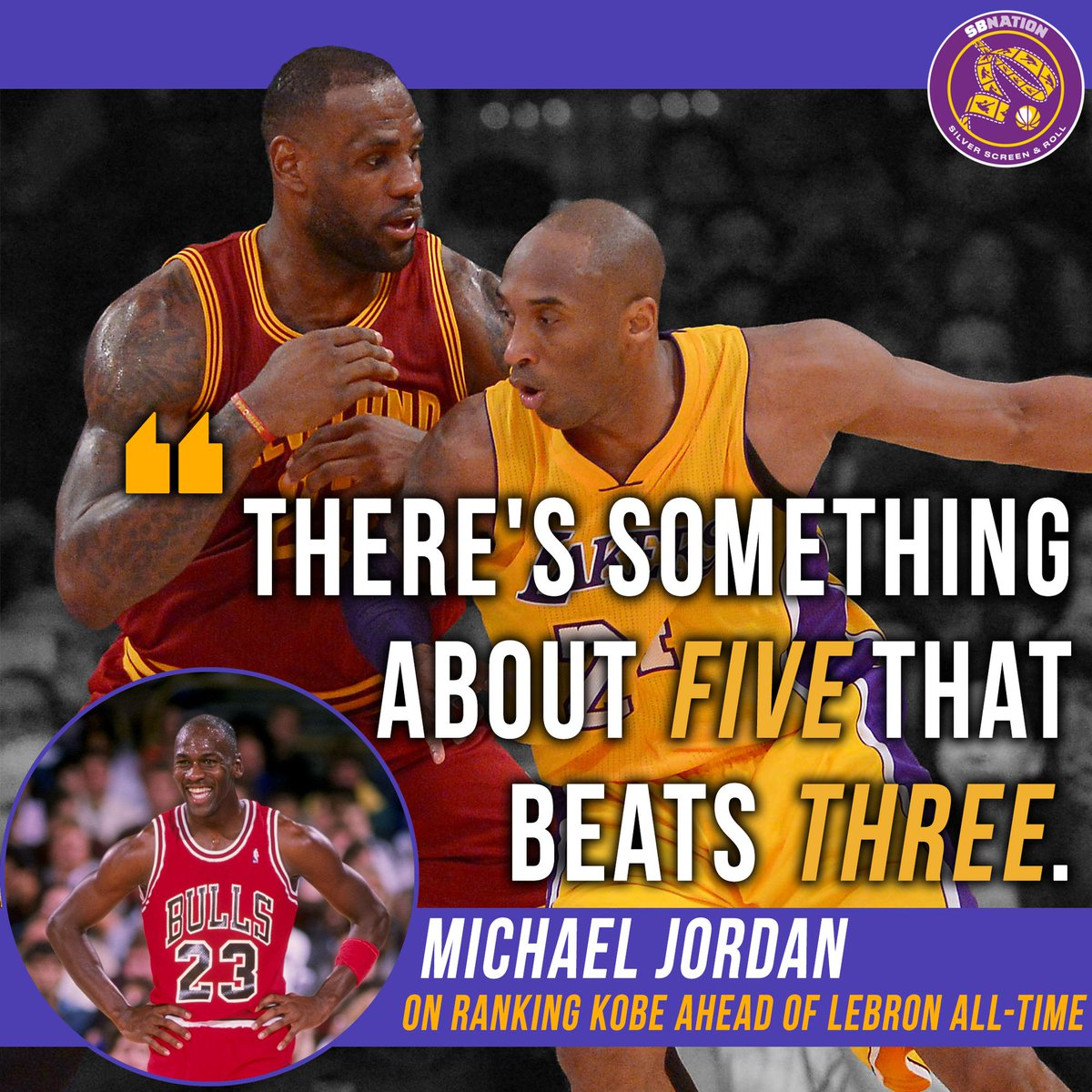 44d8975f2a0 His avi changed.  https   www.silverscreenandroll.com 2017 8 2 16084694 la-lakers-news- michael-jordan-kobe-bryant-better-lebron-james-hes-right-suckaz  ...