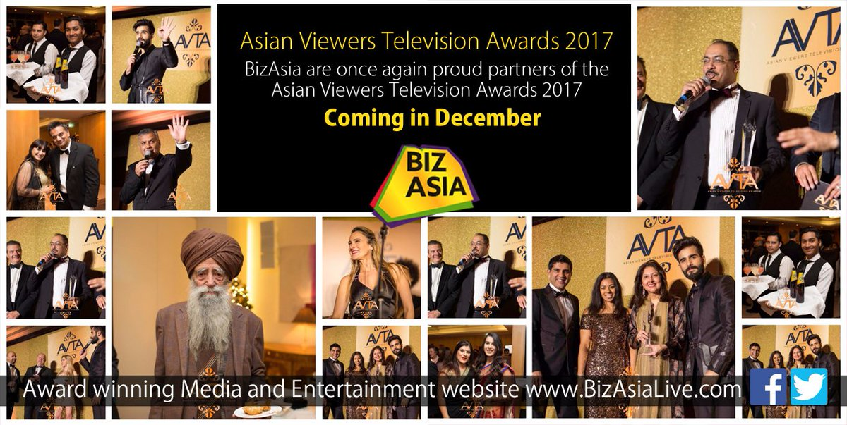 Asian Viewers Television Awards confirmed for 2017: ht.ly/TezF30e6IPs #AVTA2017 @avtaofficial