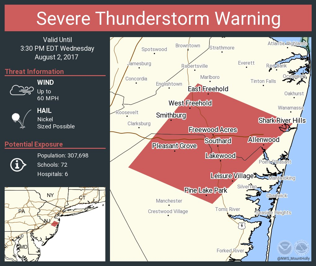 NWS Mount Holly on Twitter: