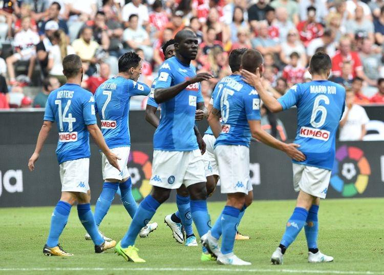 Audi Cup: Bayern Monaco-Napoli 0-2, risultato firmato Koulibaly-Giaccherini