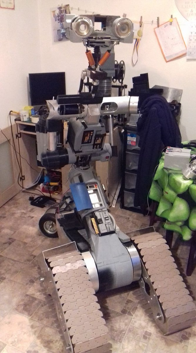 Short Circuit Robot Designs Wiring Diagram Services Robots The Rpf On Twitter Johnny 5 Wip By Dave Hall Ratty Rh Com Disney Movie With
