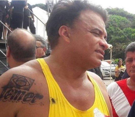 Deputado que tatuou nome de Temer recebeu doação de R$ 200 mil da JBS https://t.co/mddJEH6nOD