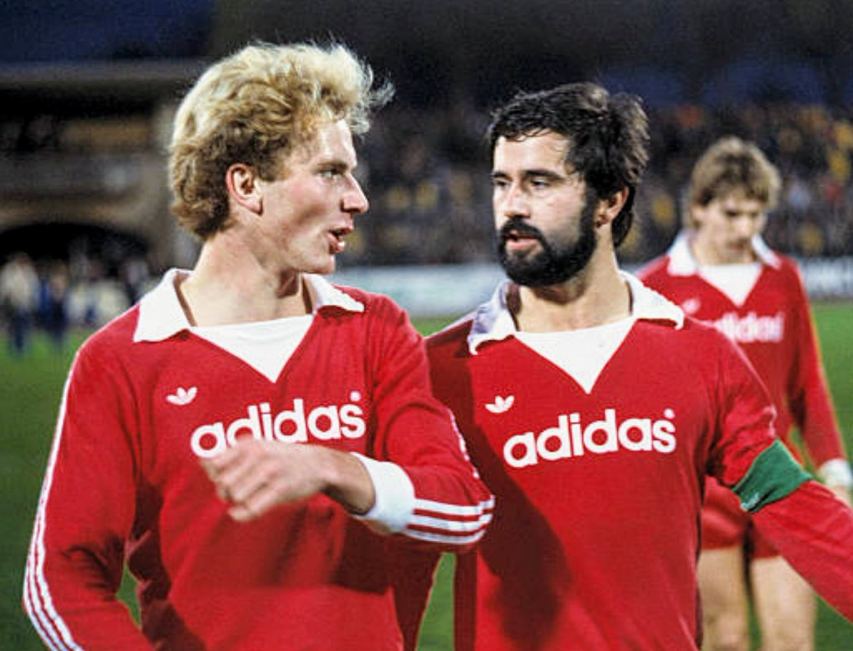 "MotherSoccer on Twitter: ""Young Kalle Rummenigge and Gerd Müller (1977) #KarlHeinzRummenigge #GerdMüller #FCBayern #München #Deutschland #DerBomber #adidasoriginals… https://t.co/jKBdFQN5Vz"""