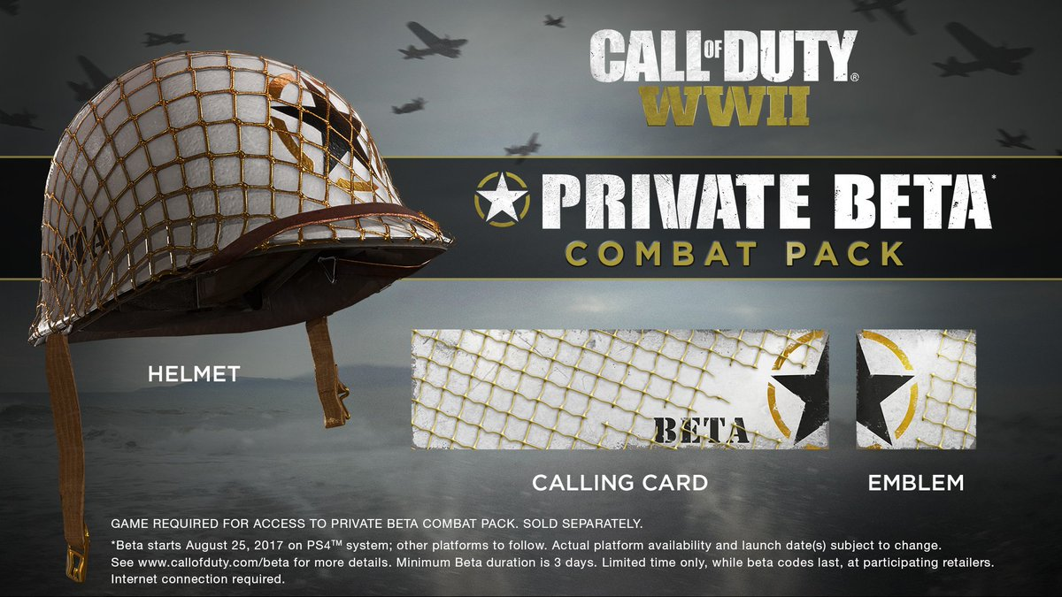 Call Of Duty: WW2 Beta Players Get These Bonuses
