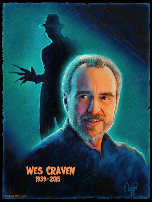 Happy birthday Wes craven we miss u