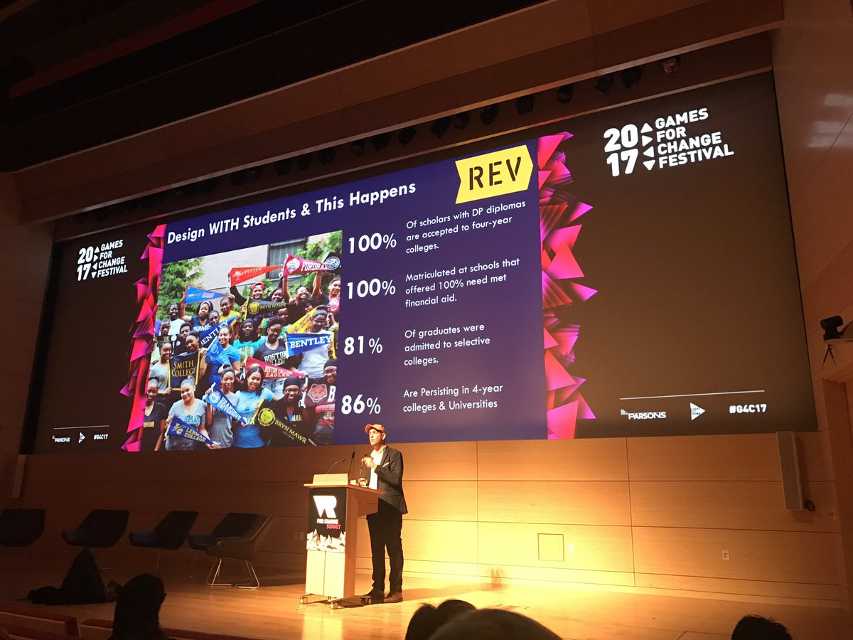 Great talk by @SethAndrew on how VR can be used not only as a great Empathy but as an Equity tool in high schools #g4c2017 <br>http://pic.twitter.com/7ugDADEazY