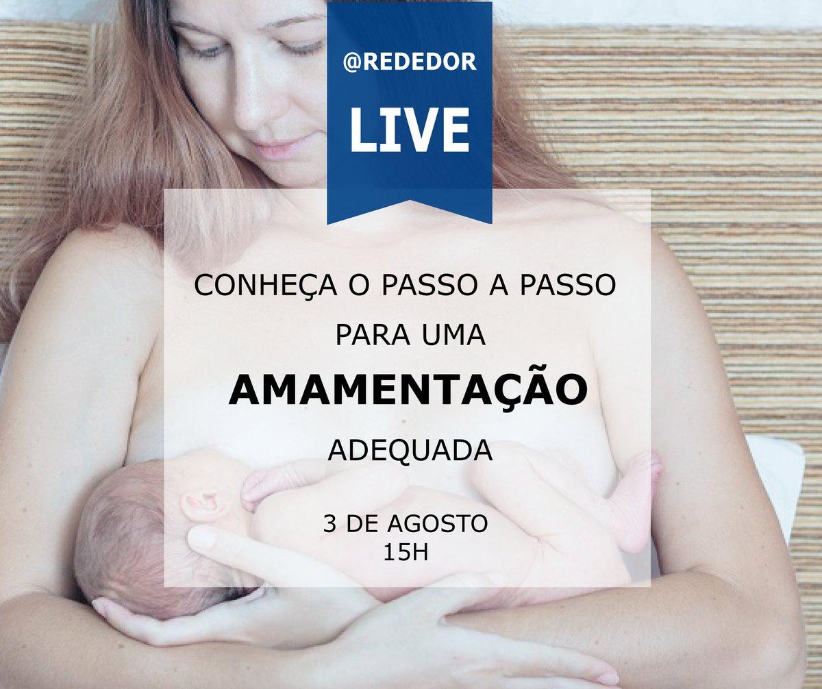 Na Semana Mundial do Aleitamento Materno, a Rede D'Or São Luiz promove uma transmissão ao vivo no Facebook sobre o tema.