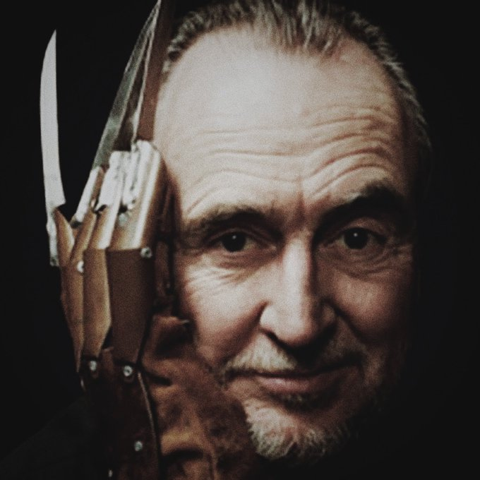 Happy birthday to one of my favorite people ever, wes craven. you will live forever in horror. love you