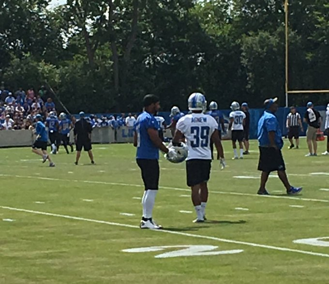 Happy birthday, Golden Tate III Looked good at training camp!