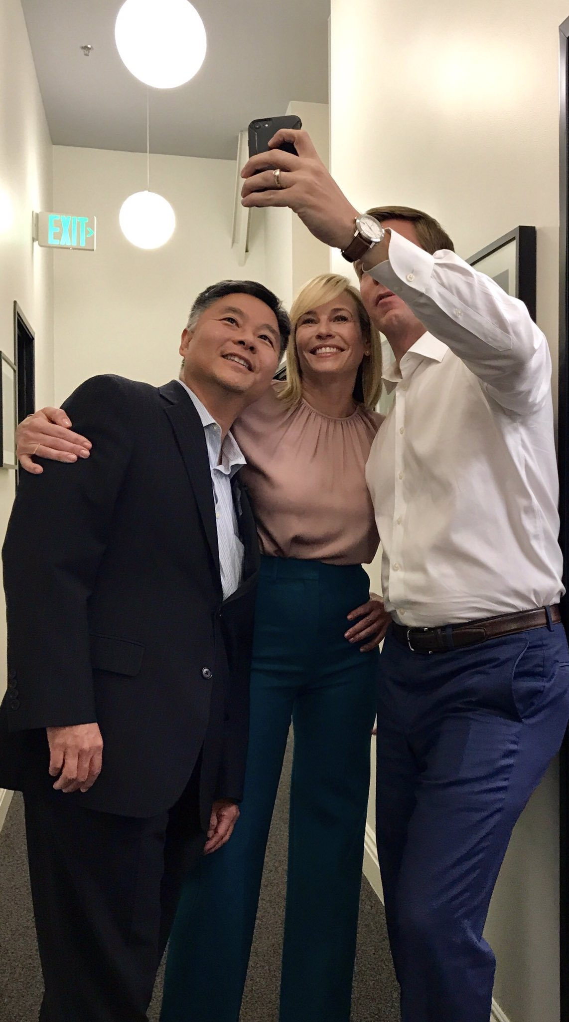 My @Snapchat is funnier when @chelseahandler & @tedlieu make cameos. Laugh along -- RepSwalwell https://t.co/AJu8vczdQU
