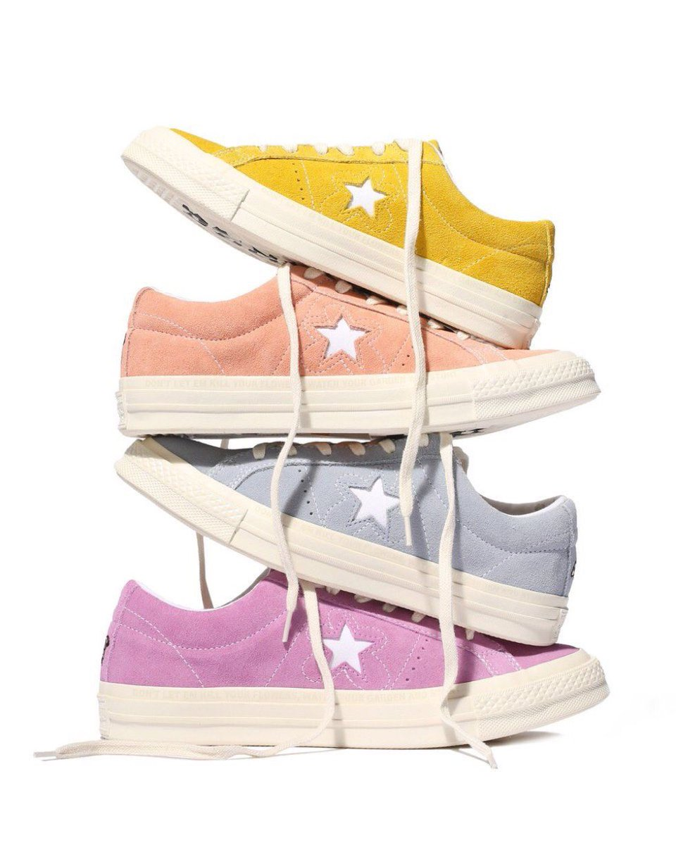 9de231e50d47e8 GOLF LE FLEUR SITELIST -  5 (tyler the creator x converse) RANDOM RT WILL  GET IT FREEpic.twitter.com 7WRVsRrIFf