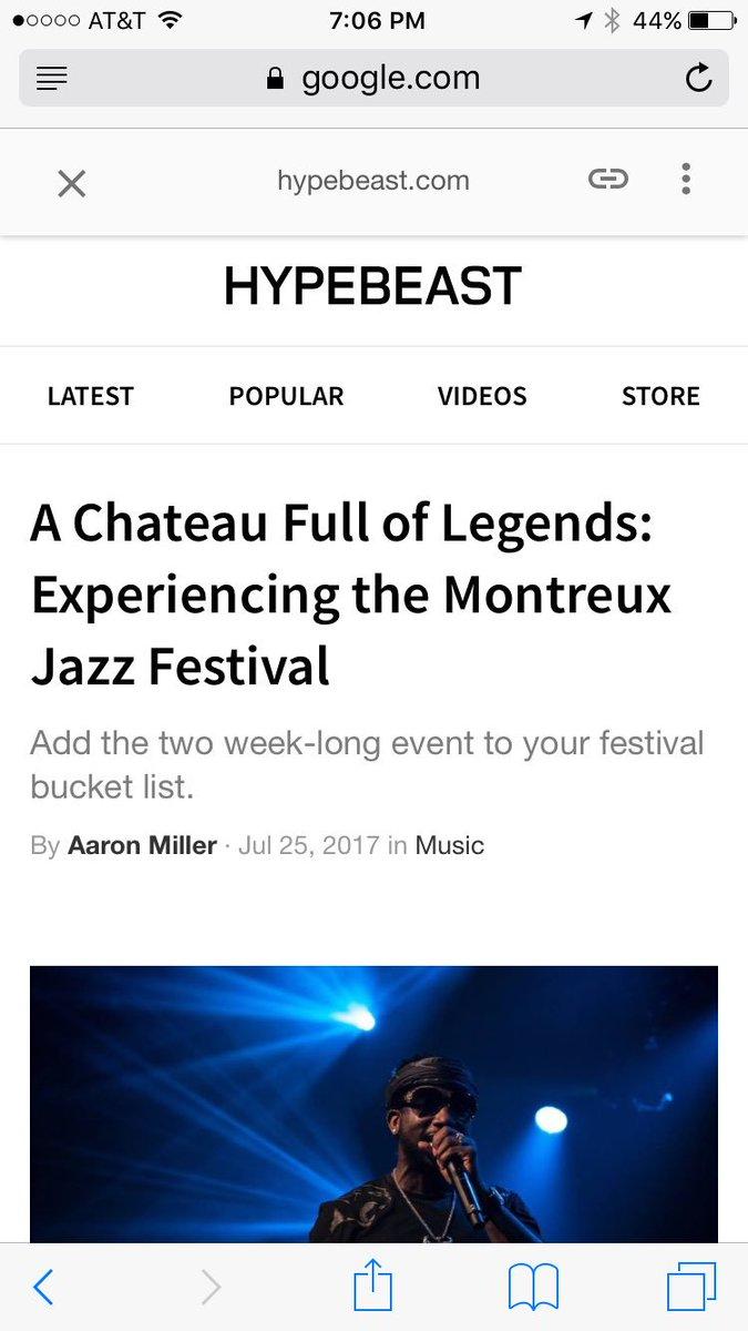 Flatbush Zombies, Montreuxjazzfestival, Sam Smith And 7 Others